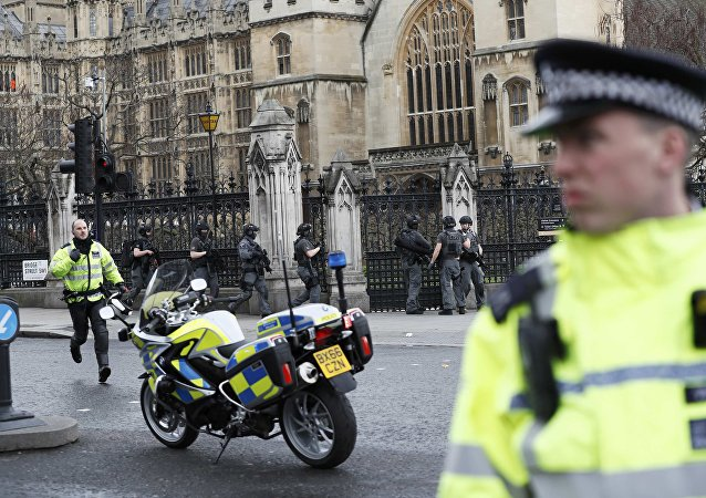 La police à Londres après l'attaque de London Bridge