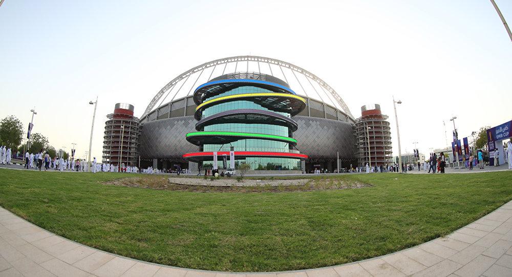 Le stade international à Doha