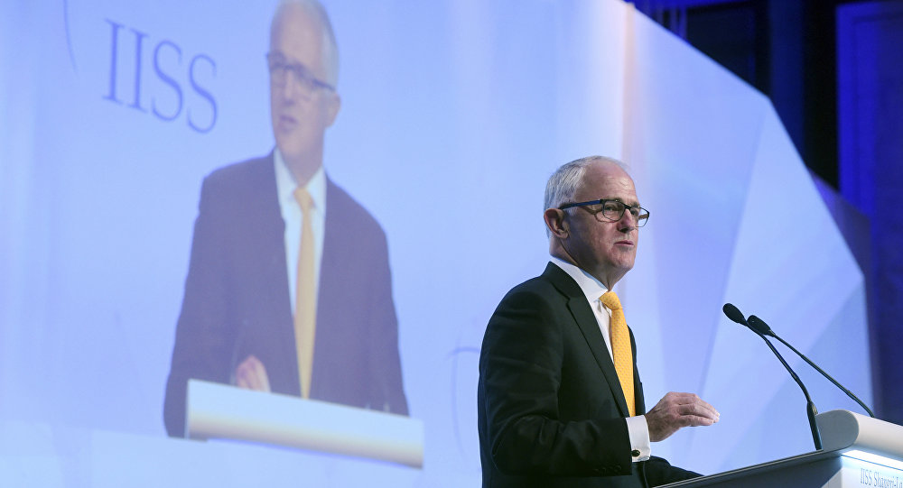 Le Premier ministre australien Malcolm Turnbull
