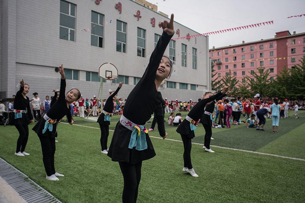 La fête des enfants en Corée du Nord