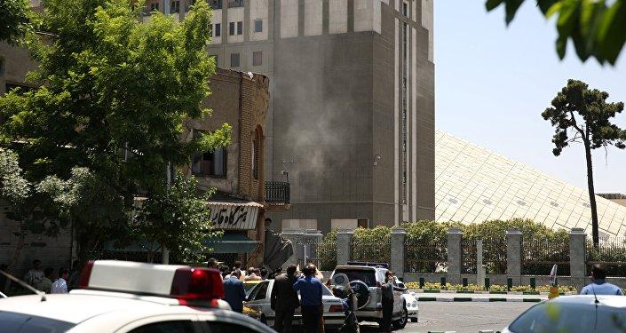 Situation à Téhéran.