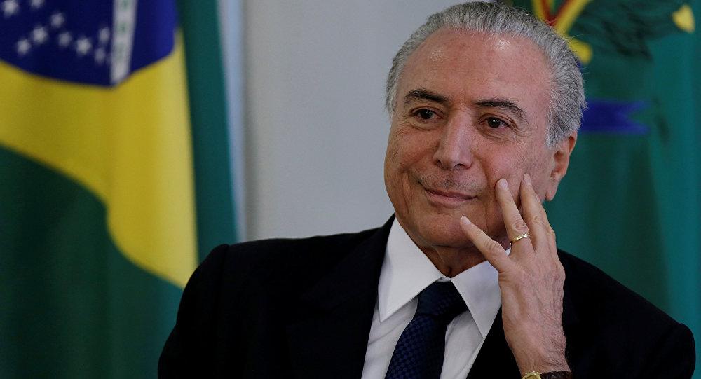 Brésil. L'ex-Président Temer soupçonné d'être