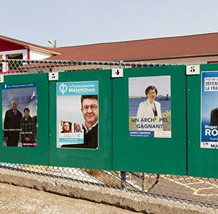 Les affiches des candidats