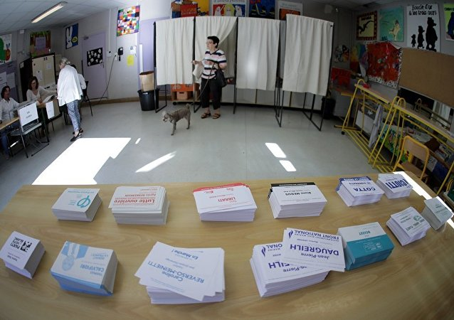 Bureau de vote.