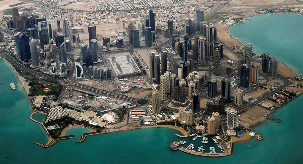 Le quartier diplomatique de Doha