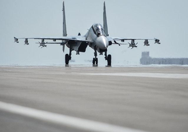 Aérodrome de Hmeimim en Syrie