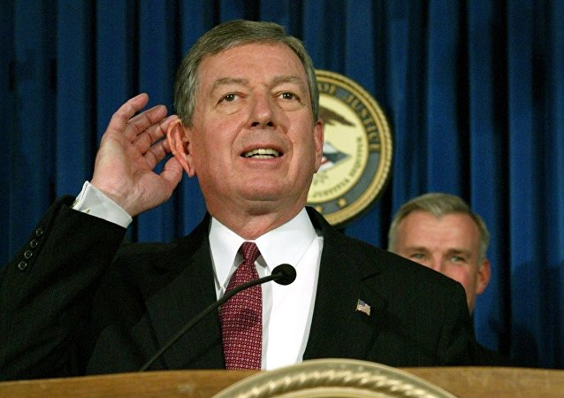 John Ashcroft. Archive photo