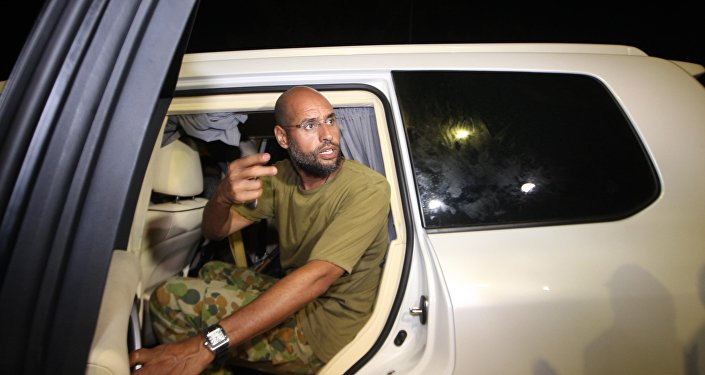 Saïf al-Islam Kadhafi. Archive photo