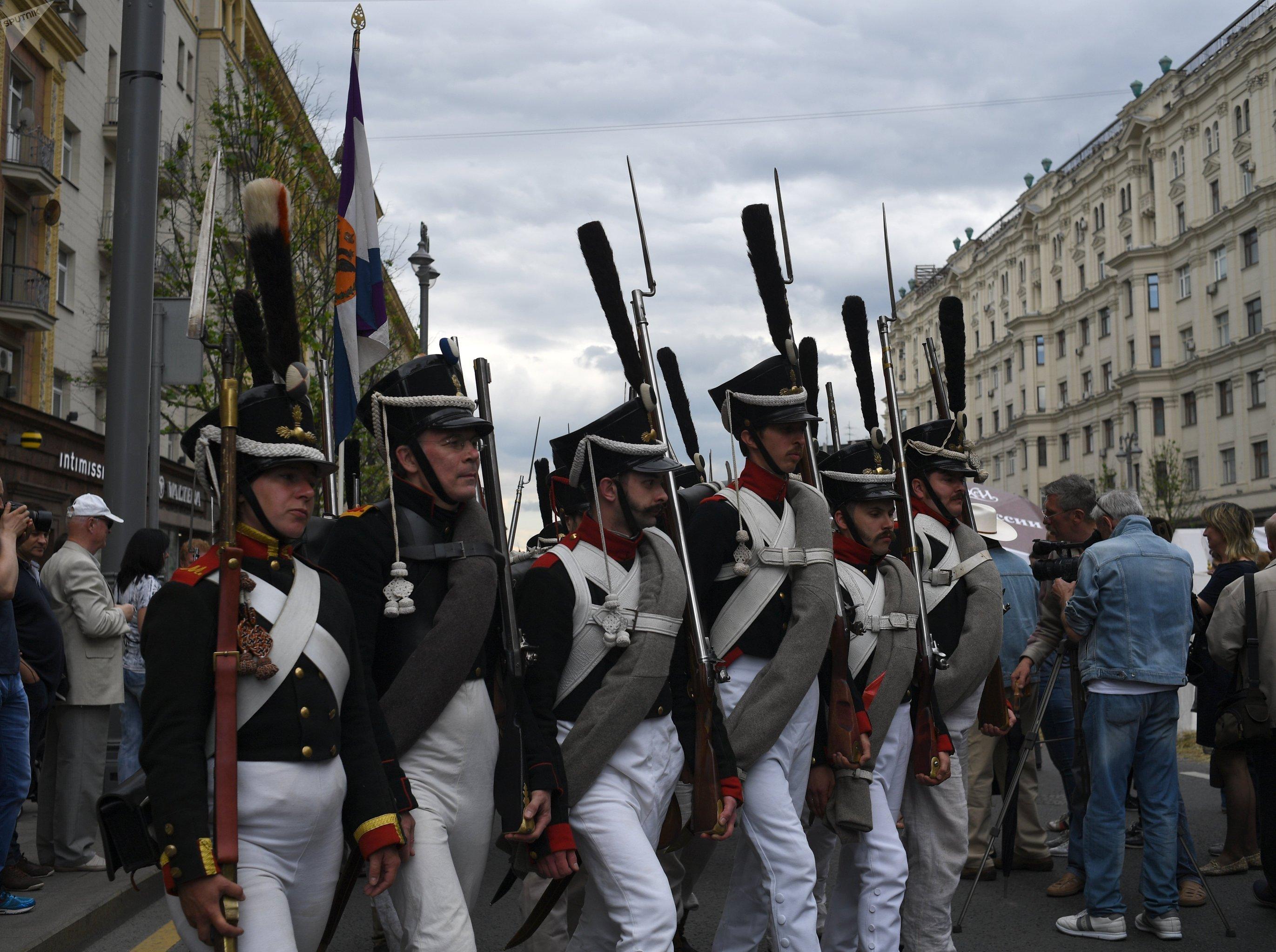 La fête nationale à Moscou Les temps et les époques
