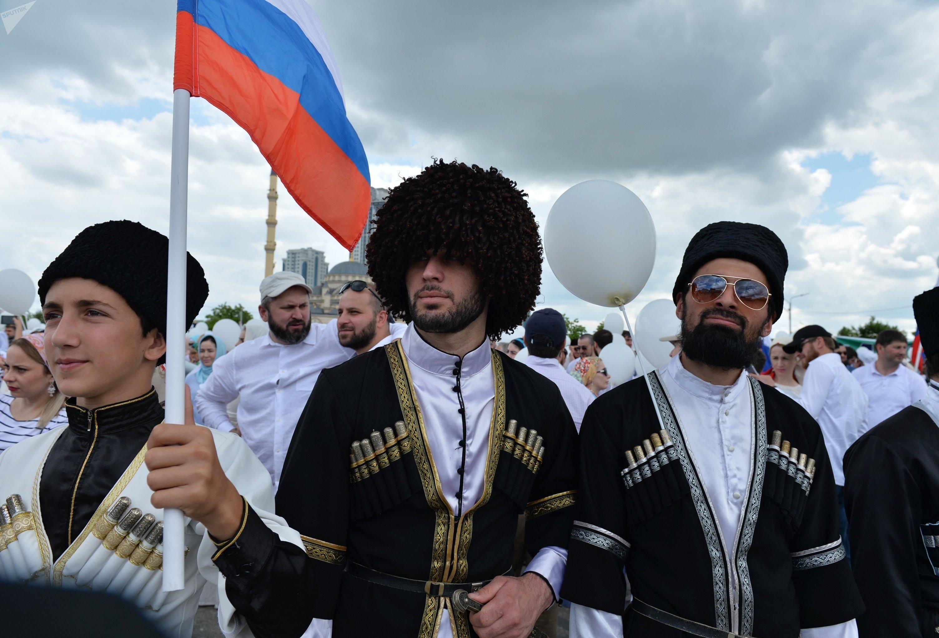 La fête nationale à Grozniy