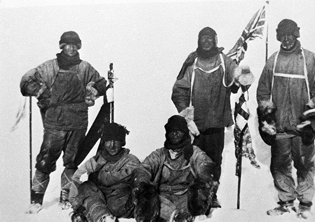 Expédition de Robert Scott au pôle sud