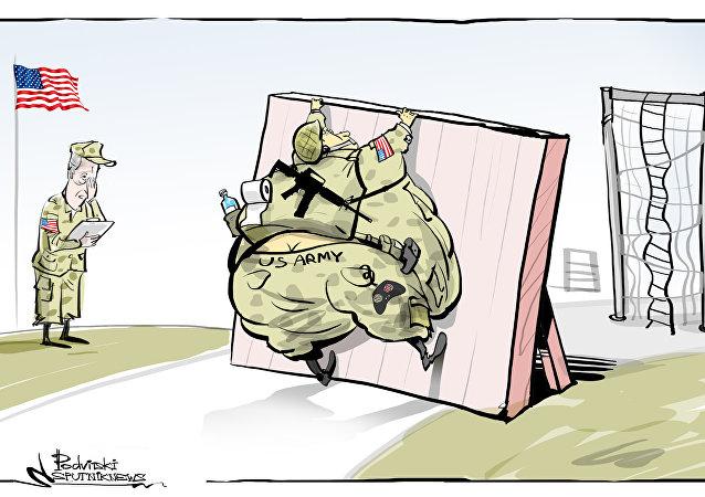 Le Pentagone est «choqué» par l'état opérationnel de l'armée américaine
