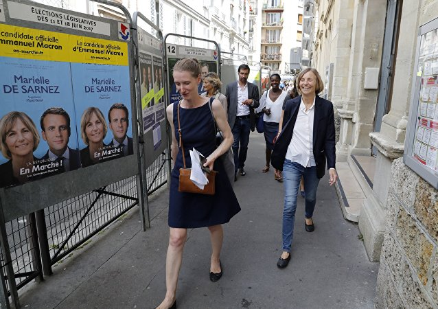 Des affiches électorales en France