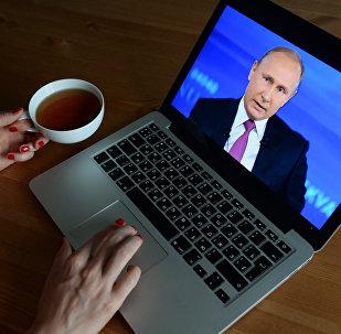 Poutine en direct