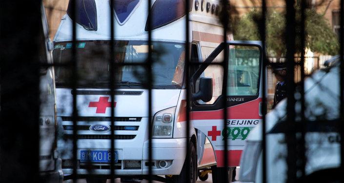 Ambulance en Chine