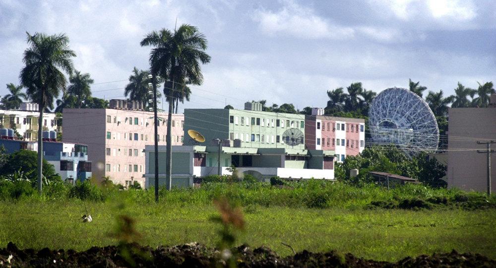 La station Lourdes à Cuba