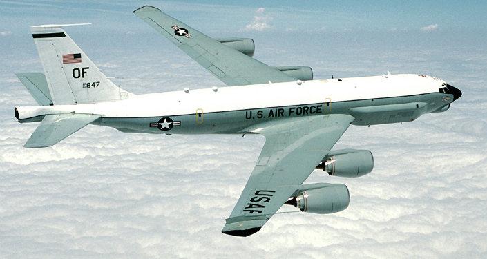 Un avion RC-135U de l'US Air Force