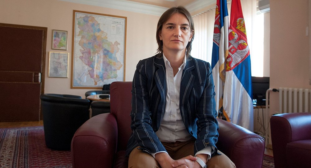 Ana Brnabic. Archive photo
