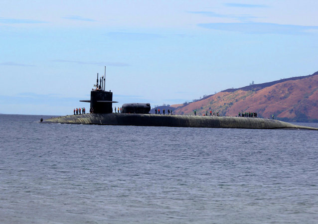 L'USS Michigan (SSGN-727)