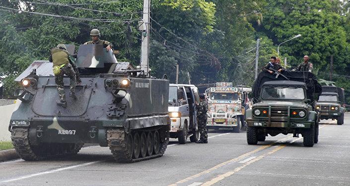 Combattants de Daech aux Philippines