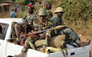 Des combattats séléka en Centrafrique