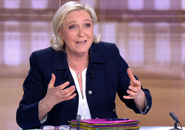 Le Pen: «J'ai le monopole de la protection du peuple»