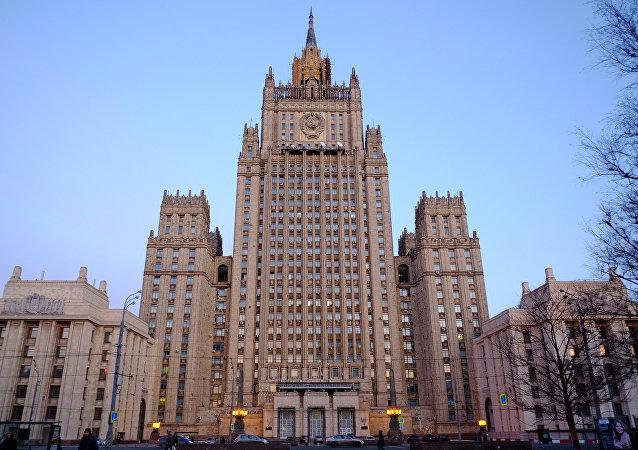 Une note de protestation remise à l'ambassade des États-Unis à Moscou