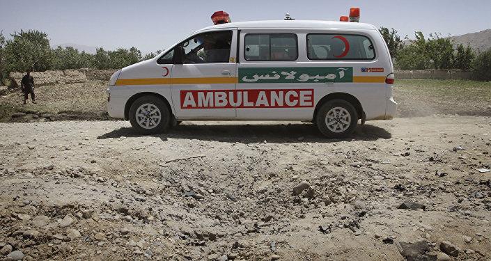 Ambulance en Afghanistan