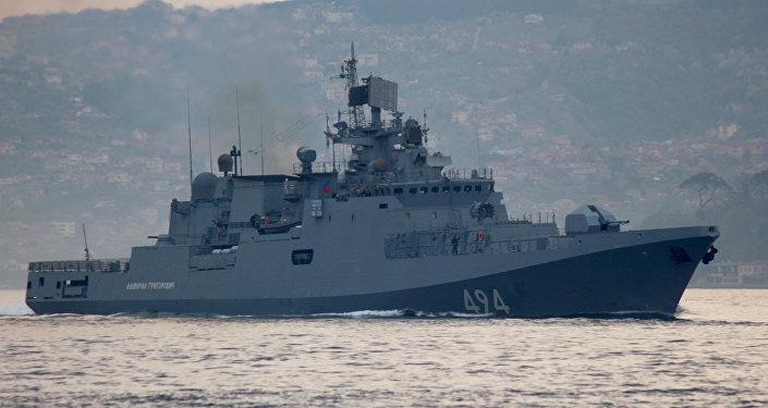 La frégate du projet 11356 Admiral Grigorovitch