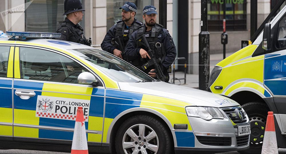 police britannique (image de démonstration)