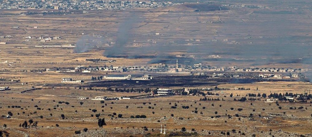 Les hauteurs du Golan