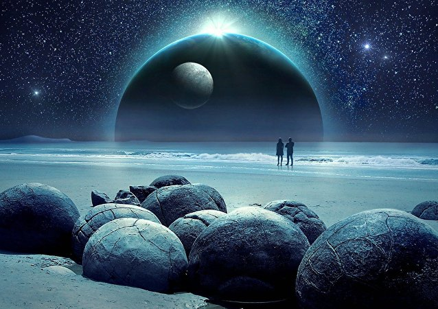 Une planète mystèrieuse