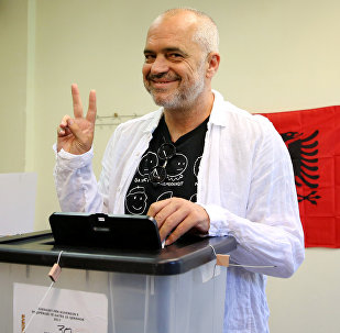 Edi Rama, le Premier ministre d'Albanie