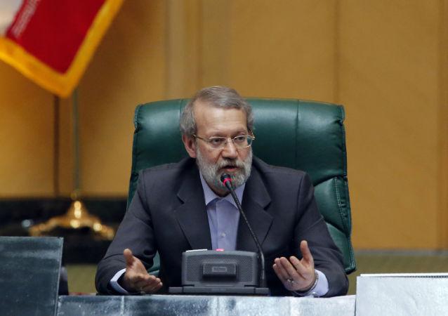 Ali Ardashir Larijani, Président de l'Assemblée consultative islamique d'Iran. Archive photo
