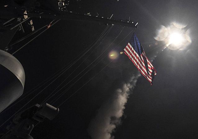 Tir de missile Tomahawk