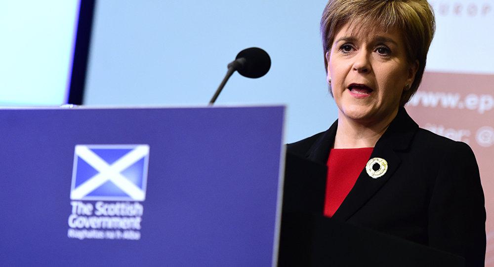 Nicola Sturgeon, première ministre écossaise