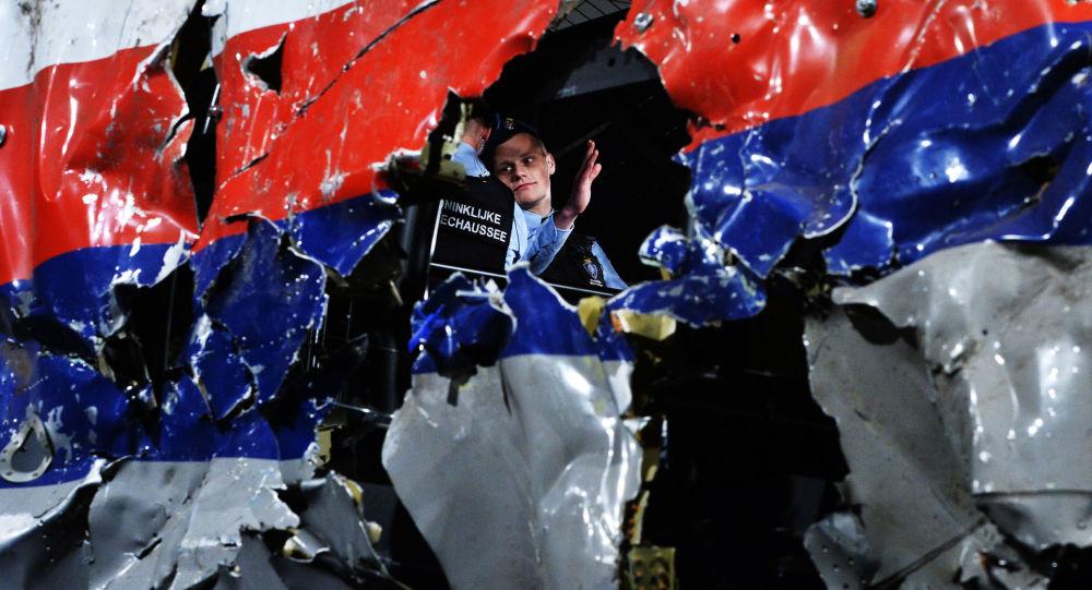 Cockpit der in der Ukraine abgestürzten Passagiermaschine MH17