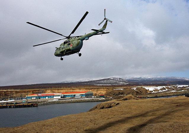Un Mi-8 militaire