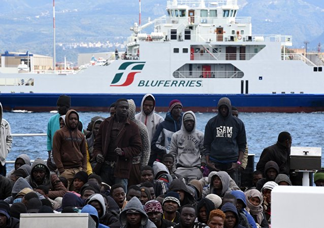 réfugiés africains