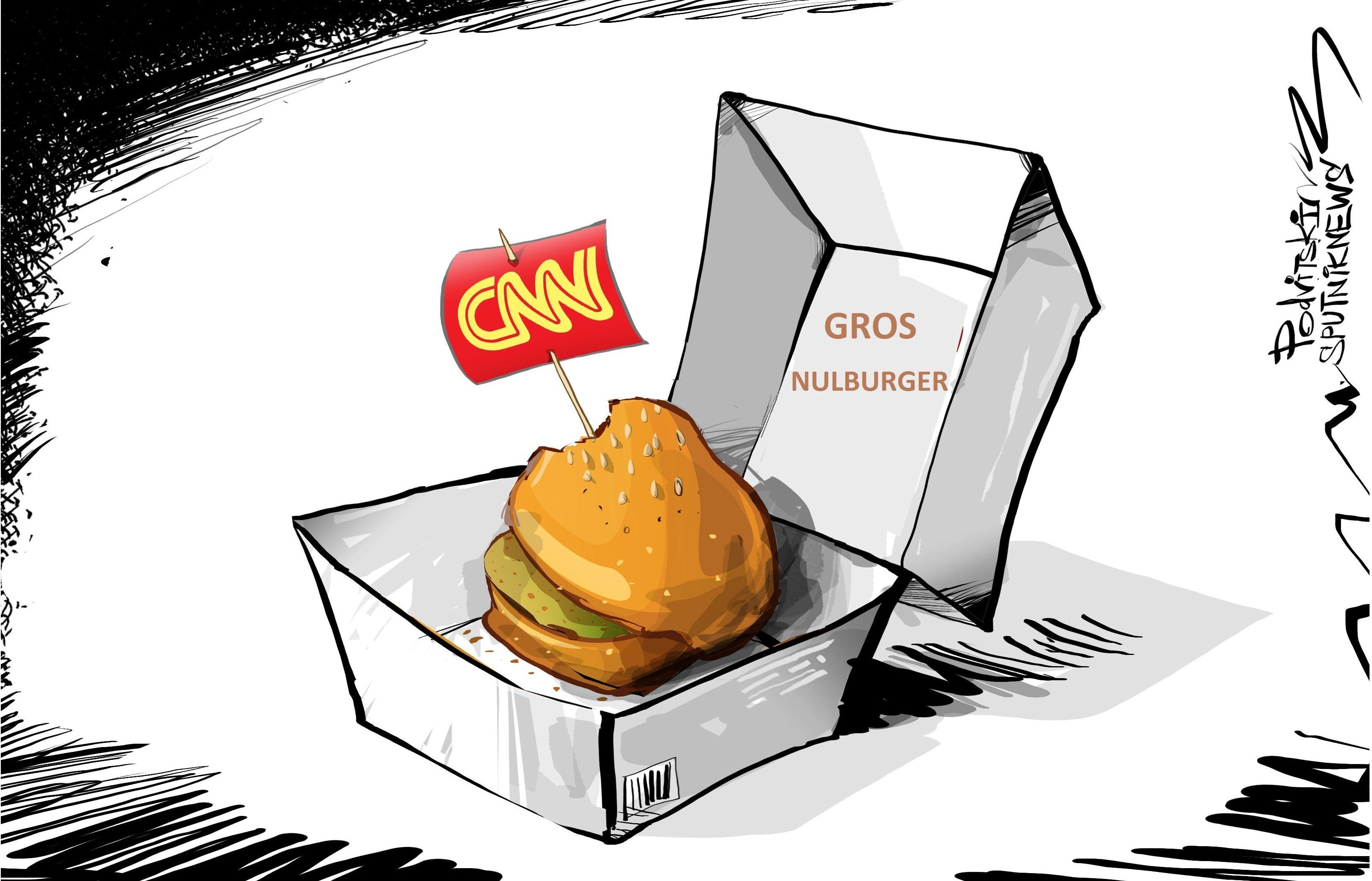 Commentateur de CNN: «L'histoire avec la Russie n'est qu'un gros nulburger»