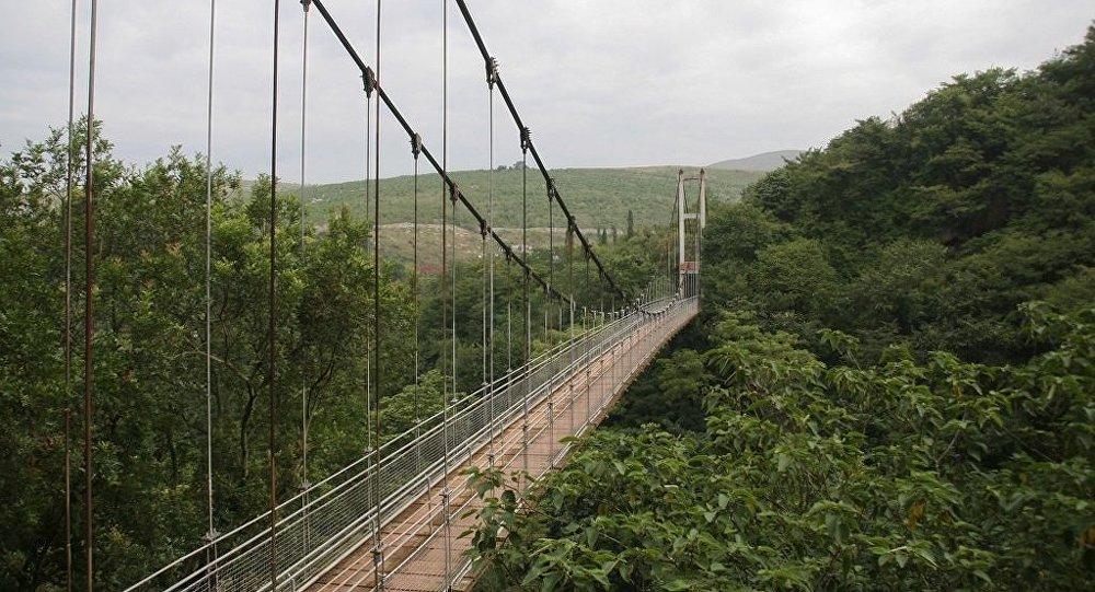 Pont en Chine. Image d'illustration