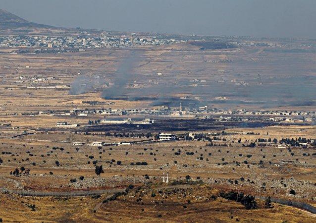 La partie du Golan contrôlée par Israël