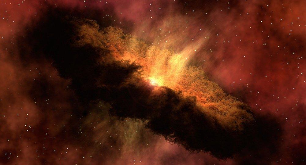 Une jeune étoile (image d'illustration)
