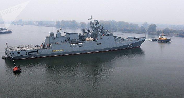 La frégate Amiral Essen