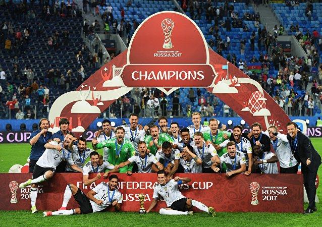 La Coupe des Confédérations 2017, la 3e la plus suivie de l'histoire du tournoi
