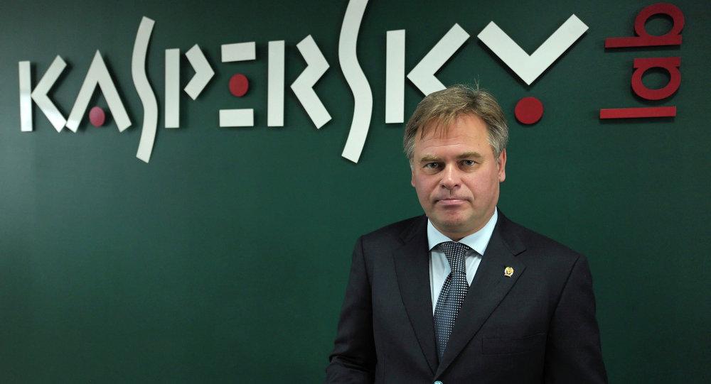 Le PDG de Kaspersky Lab, Evgueni Kaspersky