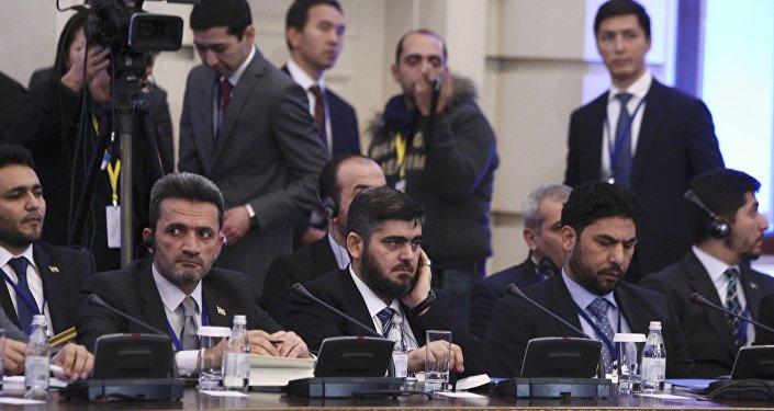 La délégation de l'opposition syrienne à Astana