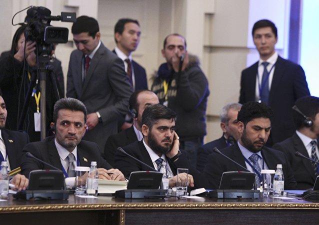 L'opposition syrienne confirme sa participation aux négociations à Astana