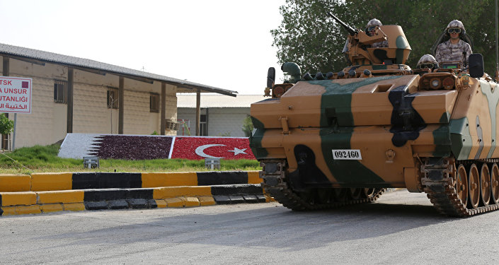 La base militaire turque à Doha
