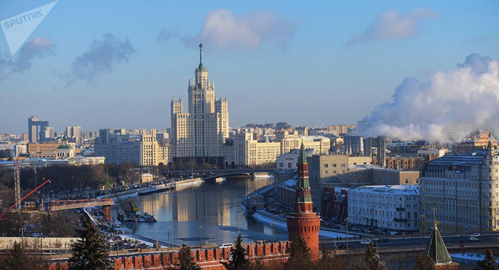 La vue sur le Kremlin